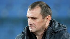 """Треньорът на Славия се нахвърли на Левски, подиграва се на играта на """"сините"""""""