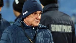 Делио Роси критикува футболистите, няма представа защо са играли слабо