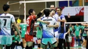 Супер Матей Казийски с 28 точки, ДжейТЕКТ загуби от лидера в Япония (видео)