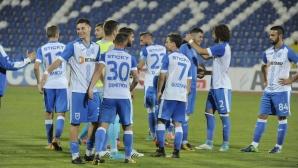 Трима българи играха за Крайова при равенство на тима