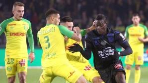Балотели донесе победа на Ница (видео)