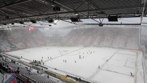 Два мача в Холандия отложени заради сняг