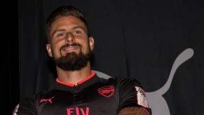 Венгер вижда бъдеще за Жиру в Арсенал