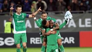 Calcionews24: Лудогорец показа, че не се страхува от по-силните