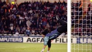 """Бразилски вратар повтори легендарния """"скорпион"""" на Игита (видео)"""
