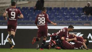 """Торино не даде шанс на десет """"орли"""" (видео)"""