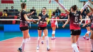 Силна Силвана Чаушева с 14 точки, Бусто Арсицио стартира с победа за Купата на CEV