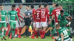 Надъхват ЦСКА-София за битката с Лудогорец, победата била задължителна