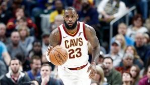 15-а победа в 16 мача за Кливланд в НБА