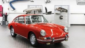 Porsche намери, реставрира и показа най-старото 911 за първи път (снимки)