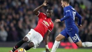 Операция заплашва защитник на Юнайтед