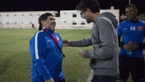 """Марадона: Кажете на Кристиано да не говори небивалици! Можех да спечеля много повече """"Златни топки"""" от него и Меси"""
