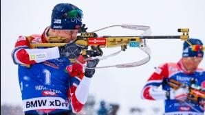 Йоханес Бьо с четвърта победа за сезона за СК, Илиев завърши 27-и в спринта
