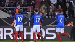 Франция ще играе контрола с Ейре преди световното първенство