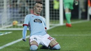 Яго Аспас е №1 в Ла Лига за ноември