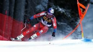 Свиндал спечели спускането във Вал Гардена и оглави генералното класиране