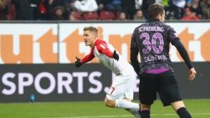 Зрелище с 6 гола и късна драма в Бавария