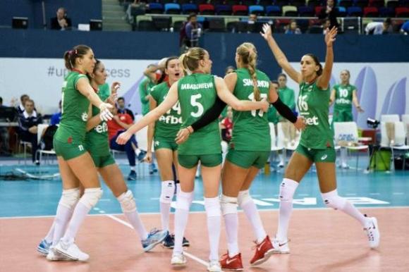 България отново в Европейската лига за жени