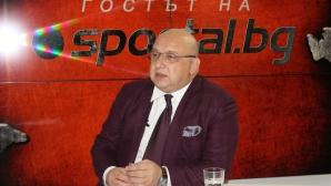 Кралев: На съдиите, които изпълняваха поръчки, няма да благодаря