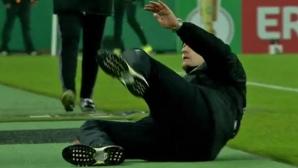 Треньор в Бундеслигата може да бъде наказан за симулация