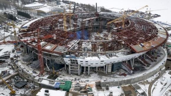 Още не са готови стадионите за Мондиал 2018 в Русия