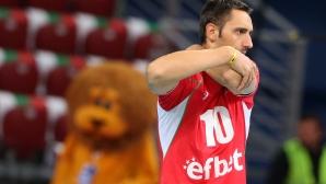 Учиков се запозна в Солун със съотборници от ПАОК, но ще играе за Нефтохимик за Купата на България
