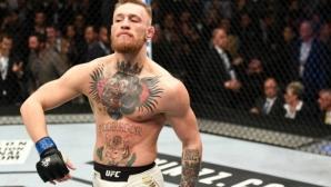 Въпреки тоталната си неактивност в UFC през 2017, Макгрегър се изкачи в ранклистата
