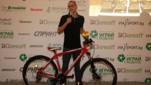 Антъни Иванов с втори приз за №1 при младите спортисти