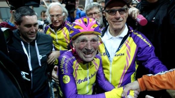 Да напуснеш спорта на... 106 години (видео)