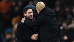 Пеп похвалил Бристол Сити: Играхте по-добре от много от Премиършип