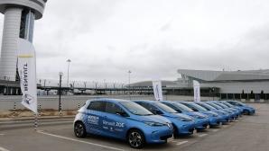 Електрическото Renault Zoe ще превозва делегатите за българското председателство
