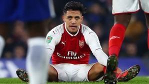 Арсенал иска 35 млн. за Алексис, Сити може да се откаже