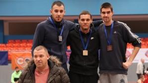 Георги Цонов с победа в скока на дължина в София