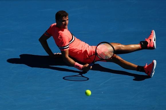 Australian Open TV отличи изпълнение на Григор (видео)