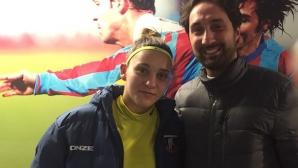 Сърбинска с нови 90 минути за Катания, тимът ѝ губи