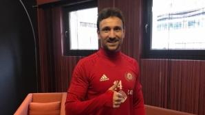 Играл в Порто с Фалкао и Хълк се присъедини към ЦСКА-София