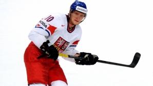 Мартин Ерат ще бъде капитан на чешкия национален отбор по хокей на лед