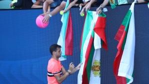 Опасна жега за Григор Димитров на Australian Open 2018