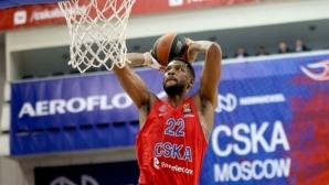 ЦСКА (Москва) отказа Анадолу Ефес със 110 точки