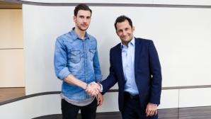 Официално: Леон Горетцка е футболист на Байерн Мюнхен от лятото