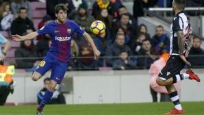 Барселона обвърза дългосрочно още един от играчите си
