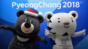 КНДР и Южна Корея дефилират заедно в Пьонгчанг