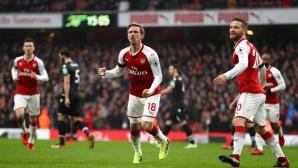 Арсенал отнесе Кристъл Палас за 22 минути