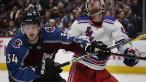 Колорадо записа девета поредна победа в НХЛ