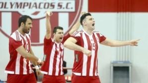 Перфектен Тодор Алексиев с 10 точки, Олимпиакос с 14 от 14 в Гърция