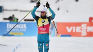 Мартен Фуркад спечели масовия старт в Антхолц-Антерселва
