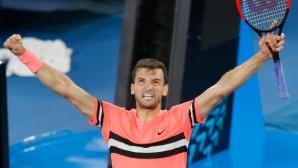 Григор Димитров: До името ми е българският флаг, това е от значение