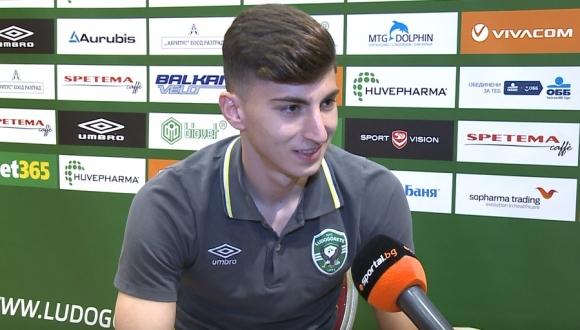 Голямата надежда на Лудогорец пред Sportal за първите си футболни стъпки и мечтите си