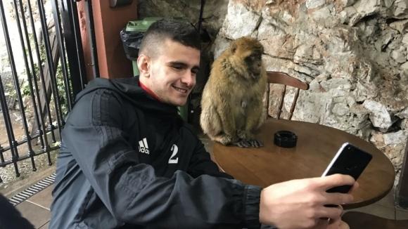 Футболистите на ЦСКА-София посетиха Гибралтар