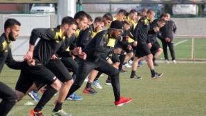 Ботев (Пд) започна лагера в Алания с 25 футболисти